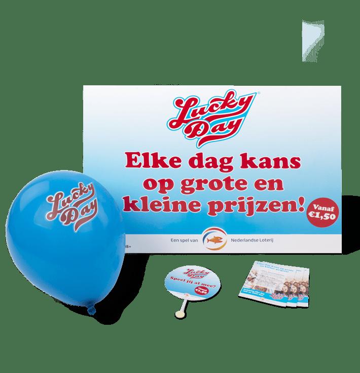Nederlandse Loterij Lucky day vrijstaand 710x735